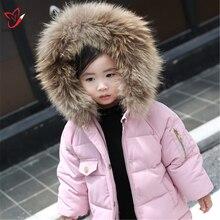 Fur Lining 50/60/65cm Winter Warm Real Raccoon Fur Trimming Collar For Kids Adult Coat Hooded Fashion Fur Collar