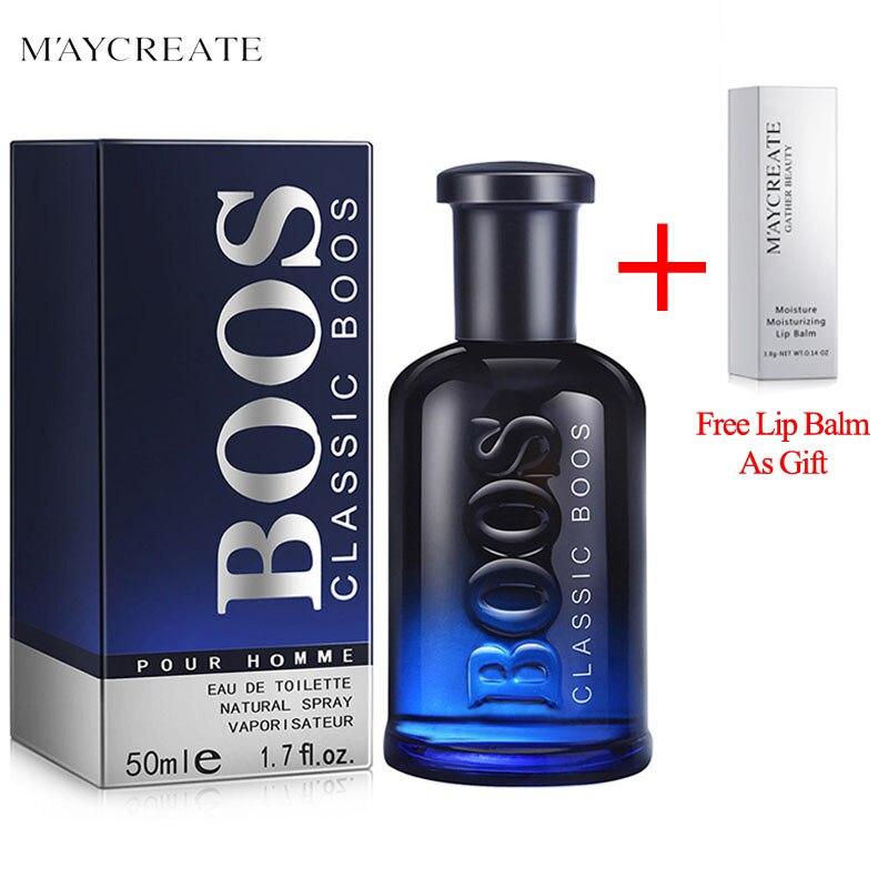 MayCreate 50 ml Sexy Männer Perfume Klassische Köln Anhaltenden Frischen Duft Make-Up Männliche Parfum Männer Spray Glas Flasche Parfüm