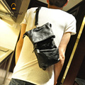 2015 new Korean fashion wild man bag shoulder bag Messenger bag small chest influx of men and destroyed a small