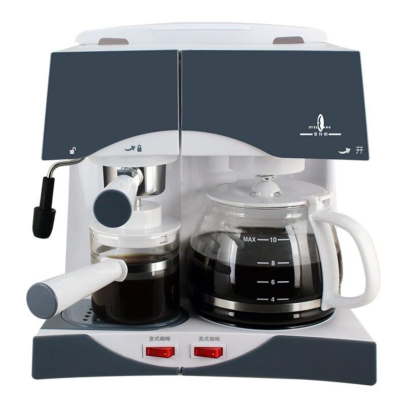 Quick filter coffee machines
