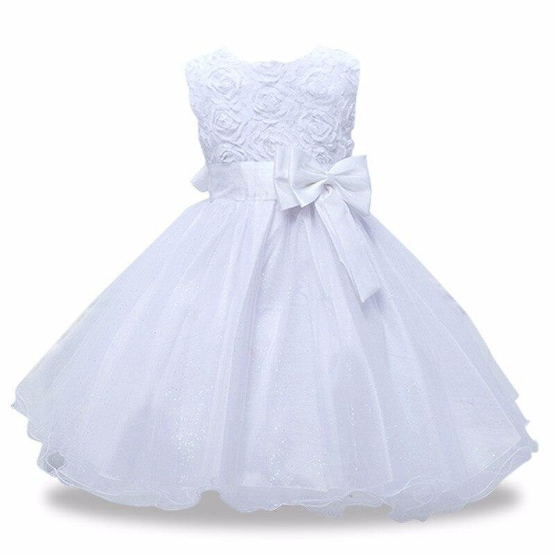 girls dress-white