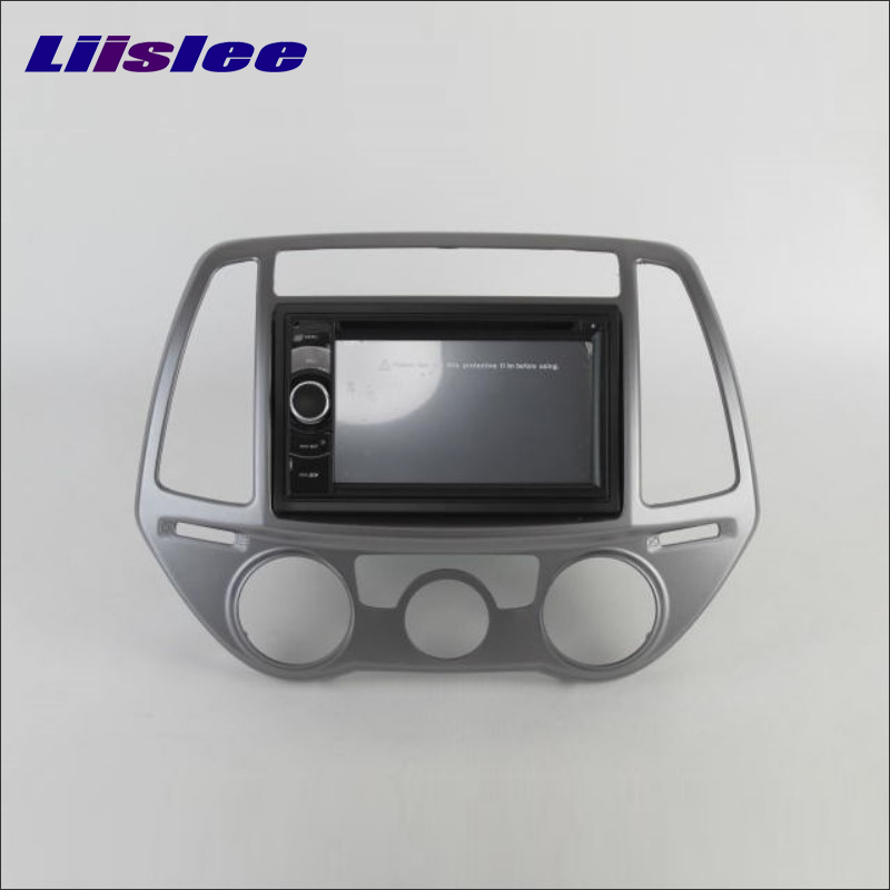 Liislee For Hyundai Click i20 / For Inokom i20 Radio Stereo DVD Player GPS Navigation System BT iPod AUX USB SD 3G WIFI System
