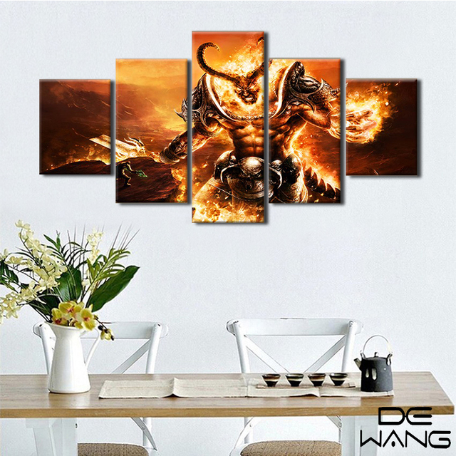 canvas prints frame game movie postres painting living room canvas
