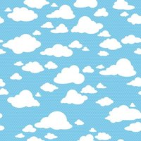 White Cloud Blue Sky Toddler backdrops  High quality Computer print newborn baby background|Background| |  -