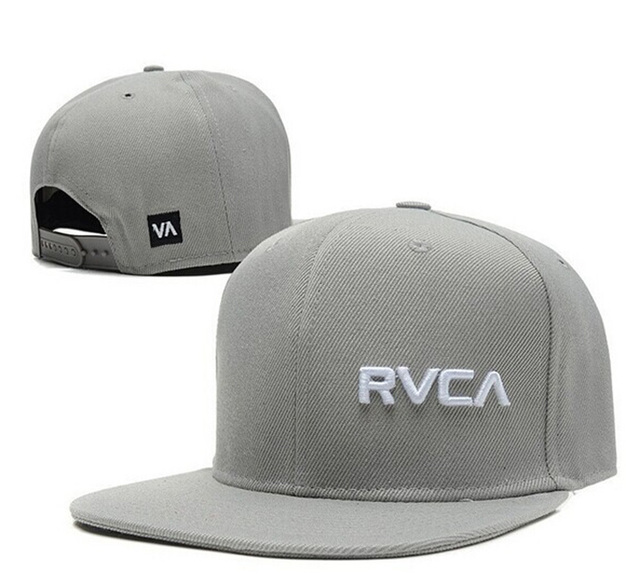 new style 692bc 77f4e RVCA Snapback hats for men women Black Red grey white swag style classic  strapback baseball caps brand hip hop cap free shipping