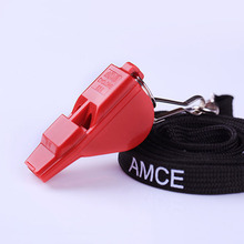 Фотография Top Professional ACME plastic refree whistle football basketball volleyball survival camping sports games with lanyard laser