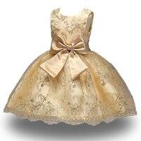 New Princess Dress Of Girl Kids Embroidery Dress Flower Girl Toddler Elegant Dress Vestido Infantil Formal