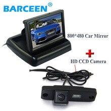 Пзс автомобилей камера заднего вида 170 угол + 4.3 «монитор автомобиля для Hyundai Elantra Terracan Tucson Accent/Для Kia Sportage R 2011