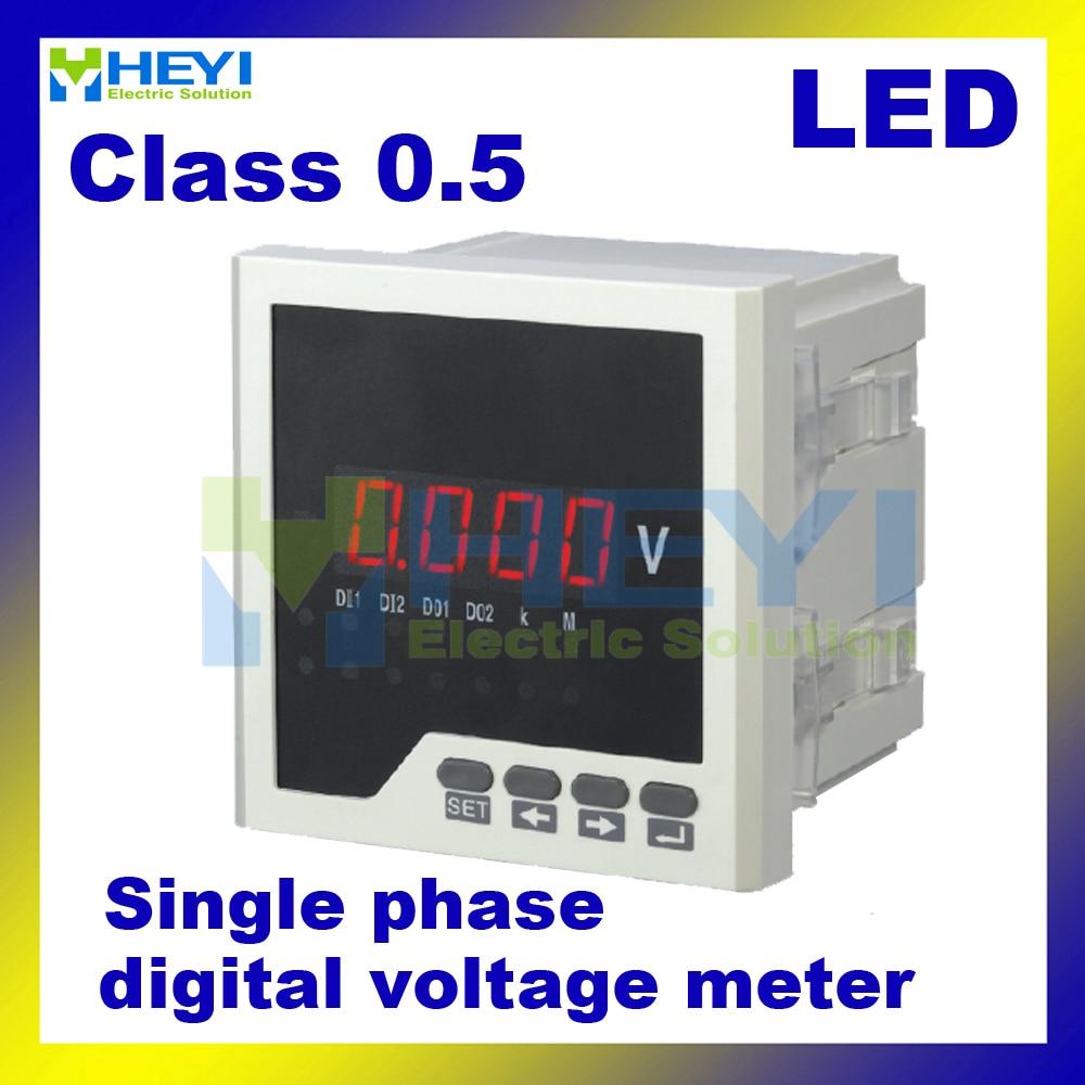 Single Phase Led : Various size led single phase digital panel meter hy av