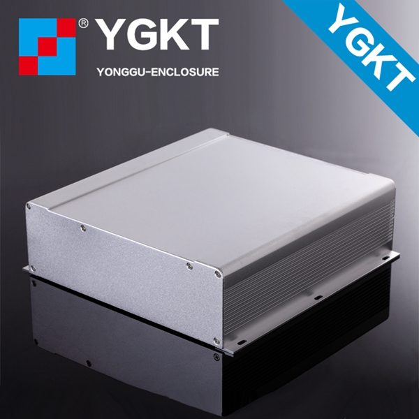 250-73.5-250 mm (W-H-L) extruding aluminum enclosure with two panels for PCB/aluminum extrusion enclosure electronics 250 73 5 250 mm w h l control box aluminum extrusion enclosure for electronics electronics aluminum case housing project case