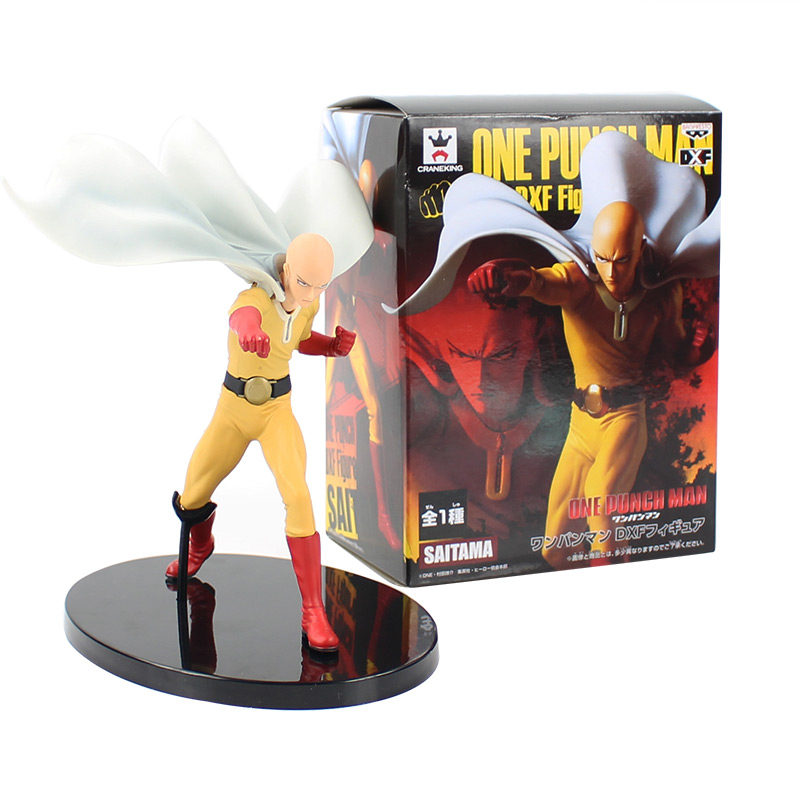 19cm Anime One Punch Man DXF Saitama Hero PVC Action Figure Doll Collectible Model Toy Kids Gift19cm Anime One Punch Man DXF Saitama Hero PVC Action Figure Doll Collectible Model Toy Kids Gift