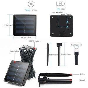 Solar Led String Fairy Light W
