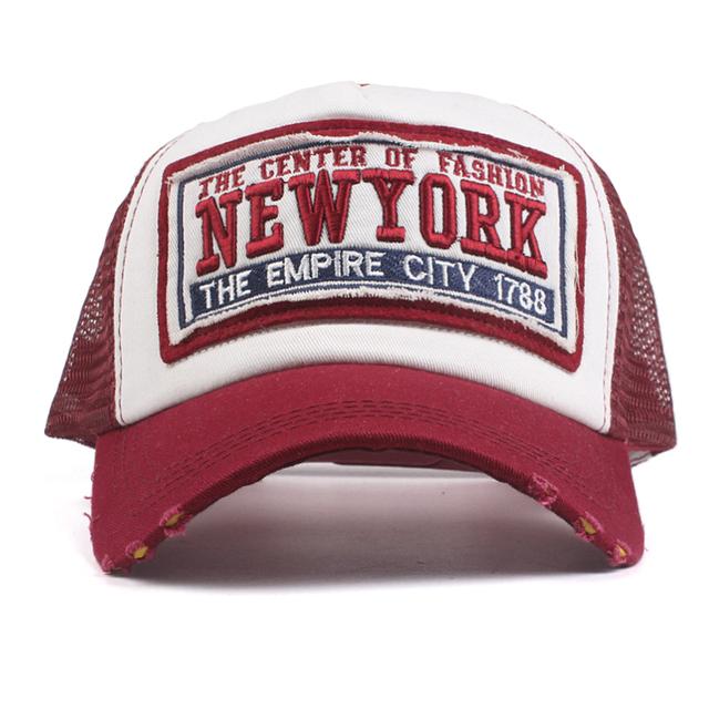 NYC Comouflage Snapback Hat
