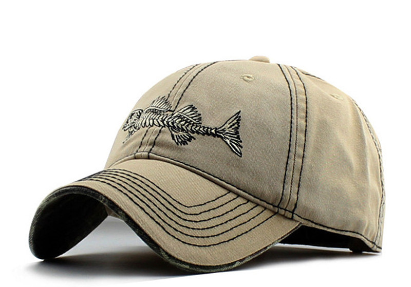 ce60e38bddc AKIZON Fishing Mens Hats - Baseball Cap Fishing Hat Cotton - Mens ...