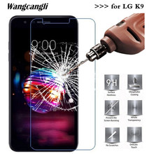 2.5D 0.26mm Ultra-thin Screen Protector For LG K9 Tempered Glass 9H Protective Glass For LG K9 glass Cell Phone Glass(China)