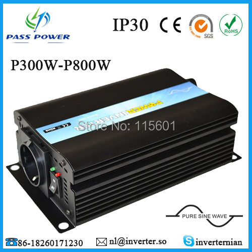 Factory selling DC12-24v to AC110v 300W pure sine wave off-grid inverter 300w pure sine wave off grid inverters