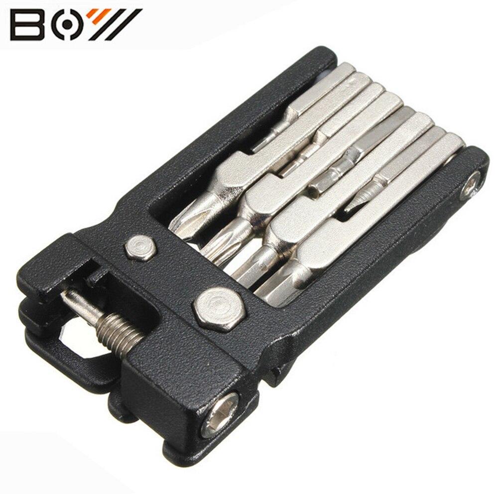 GARÇON Vélo Multi-fonction Outils de Haute Qualité 19 en 1 Hex clé Tournevis Wrenc hBike Outils Multi Repair Tool Kit Set pièces