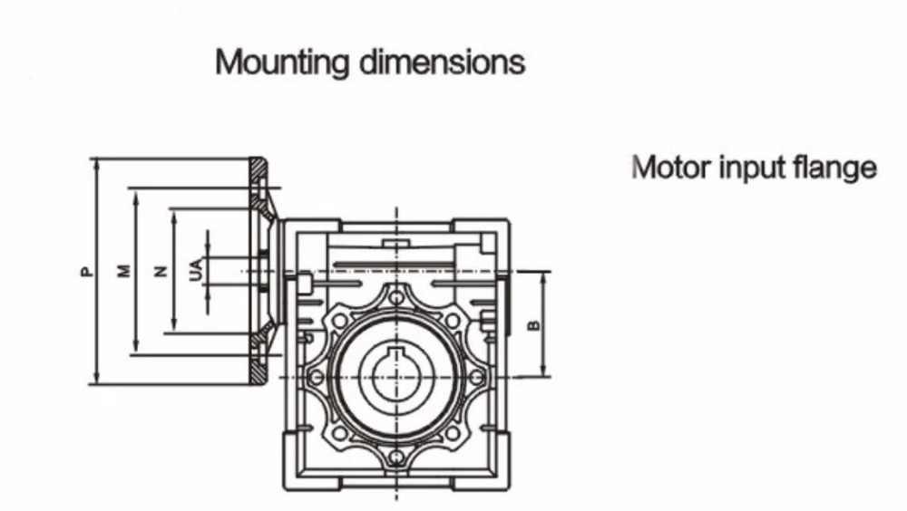 NMRV063 30: 1 червь Шестерни редуктор с фокусным расстоянием 25 мм одиночный выходной вал 3 фазы 380 в один/2 Фаза 220 v 4-полюсный 2400 об/мин 550 Вт асинхронный двигатель