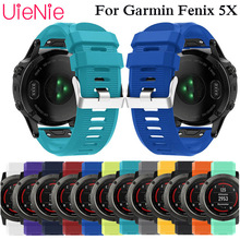Outdoor Sport Silicone watch Strap Watchband bracelet band quick easy fit Band for Garmin Fenix 5X strap watchband