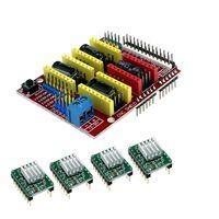 Smart Electronics CNC Shield V3 Engraving Machine / 3D Printer / + 4pcs A4988 Driver Expansion Board for arduino DIY KIT