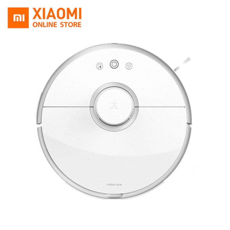 New Original XIAOMI Roborock S50 S51 Robot Vacuum Cleaner 2 Smart Cleaning for Home Office Sweep Wet Mopping App Control цена