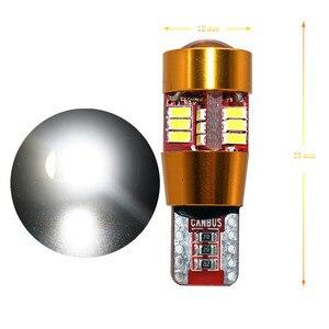 Image 4 - Deechooll 2 個 W5W LED 電球車アルファロメオ用の 159 、 canbus T10 6/27SMD クリアランスライトロミオ 159 2007 + インテリアランプ