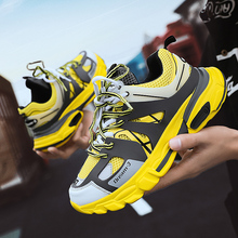 2019 New Fashion Breathable Light Men Casual Shoes Lace-up S