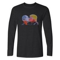 Donald Trump American President T Shirts Long Sleeve T Shirts And TShirt Men Funny Print In