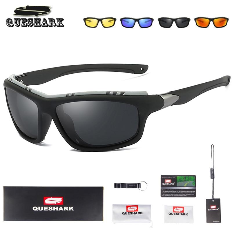 f425425e98 Detalle Comentarios Preguntas sobre Queshark de las mujeres de los hombres  de deportes polarizadas pesca gafas de ciclismo gafas caza Camping  senderismo ...