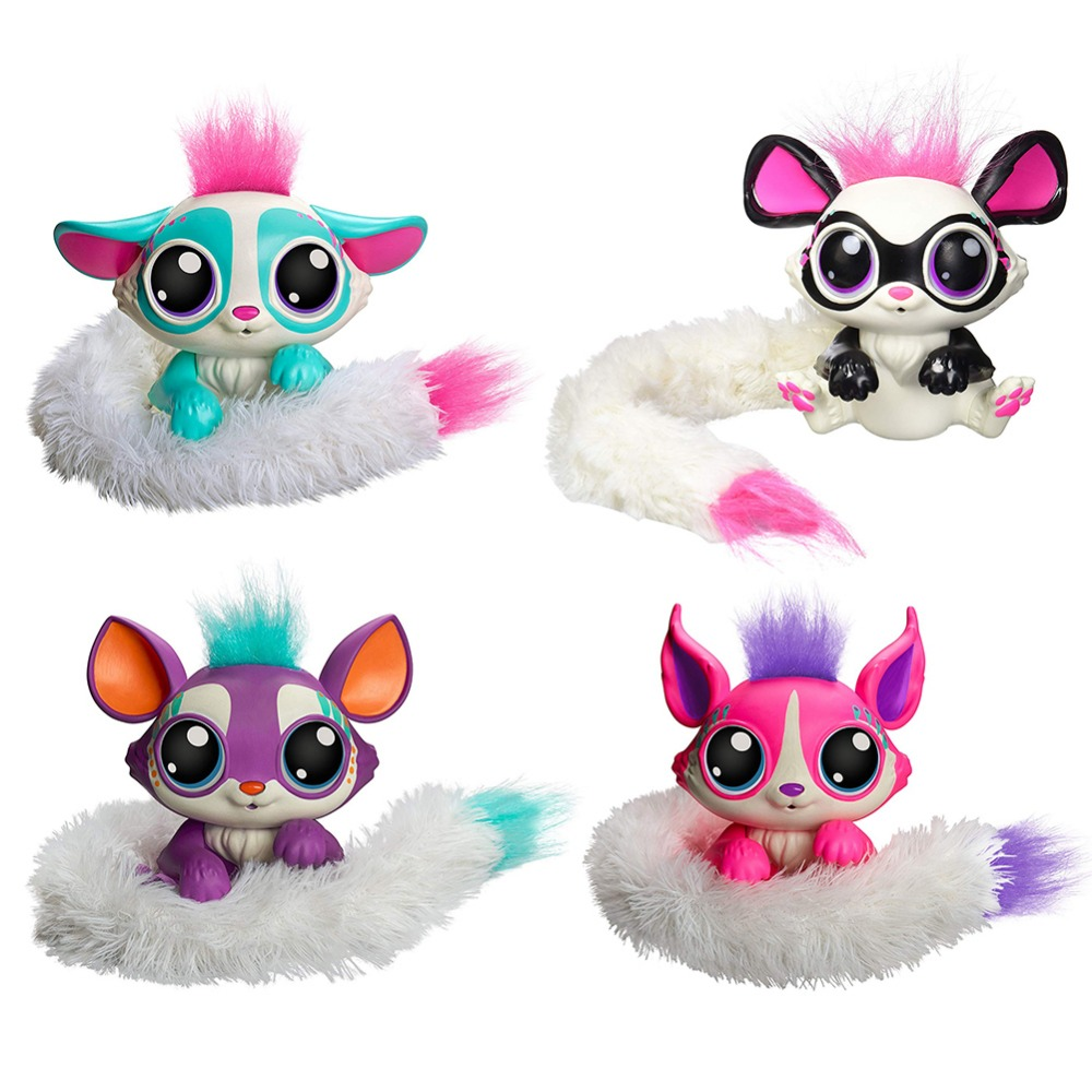 Plush-toy-Lil-Gleemerz-Acousto-optic-Touch-Interactive-Pet-Magic-Color-Tail-Fox-Figure-Funny-Model