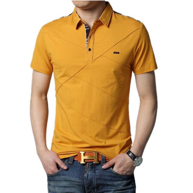 5 colors 2016 Cotton Mens Polo shirt ,Top Quality Man's Clothing Short Sleeve Men Tops POLO Men Shirt, XXXL plus size POLO