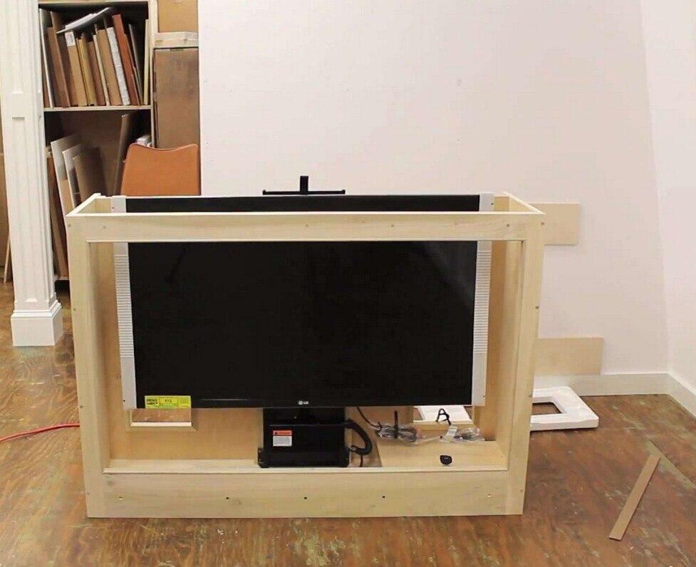 Спальня гостиная лифт для телевизора механизм Smart control электрический лифт для телевизора