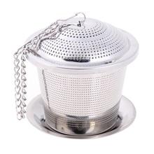 Сетчатый фильтр для заварки чая из нержавеющей стали, многоразовый ситечко для заваривания чая, фильтр для специй в виде листьев, ситечко для заварки чая, Аксессуары для инструментов