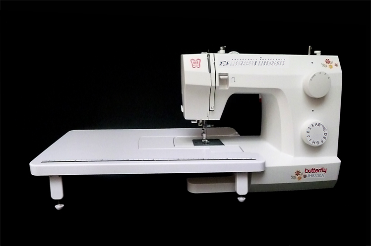Portable electric household multifunctional sewing machine ,special for thick material use,with overlock sewing  pressure foot machine
