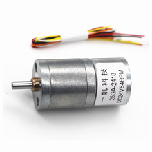 25GA2418 Brushless DC Motor, 12v24v Curler Motor, BLDC Brushless Slow Motor, DC Gear Motor planetary gearbox ratio 10 1 with nema 23 120w brushless dc motor gear bldc motor