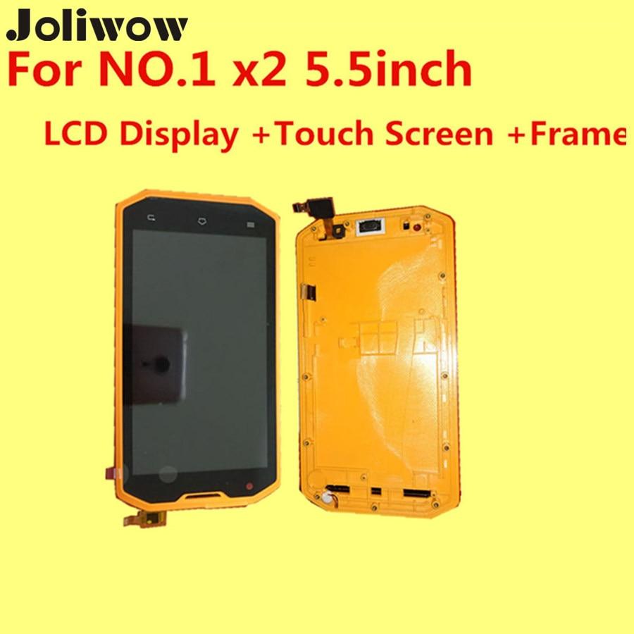PARA 1x2 de 5.5 pulgadas LCD Display + Touch Screen + Frame + Herramientas de Ac