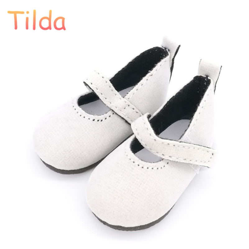 Tilda 5.6cm Mini Shoes For Paola Reina Doll,Fashion Mini Toy Shoes For Corolle 1/4 Bjd Doll Footwear Shoes Accessories For Dolls