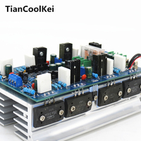 Amplifiers audio hifi 2 .0 stereo amplifier audio dual channel high amplificador 500W+500W high power amplifier board