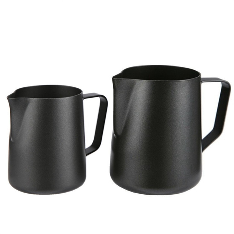 ROKENE Non-Stick Stainless Steel Pitcher Milk frothing jug Espresso Coffee Pitcher Barista Craft Coffee Latte Milk Jug Pitcher