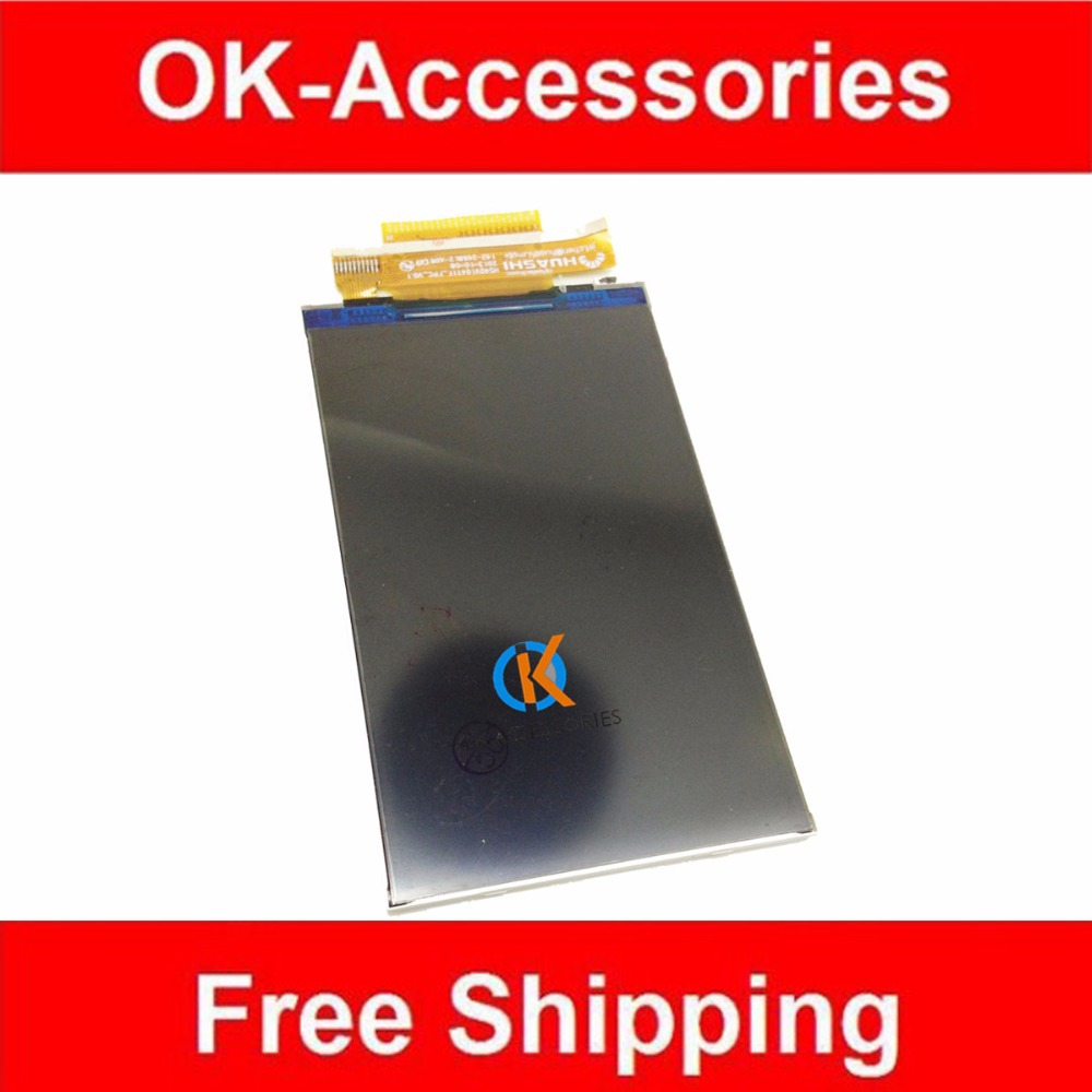 100% High Quality For Explay Atom LCD Display Screen Replacement 1PC /Lot Free Shipping By Post explay для смартфона explay craft