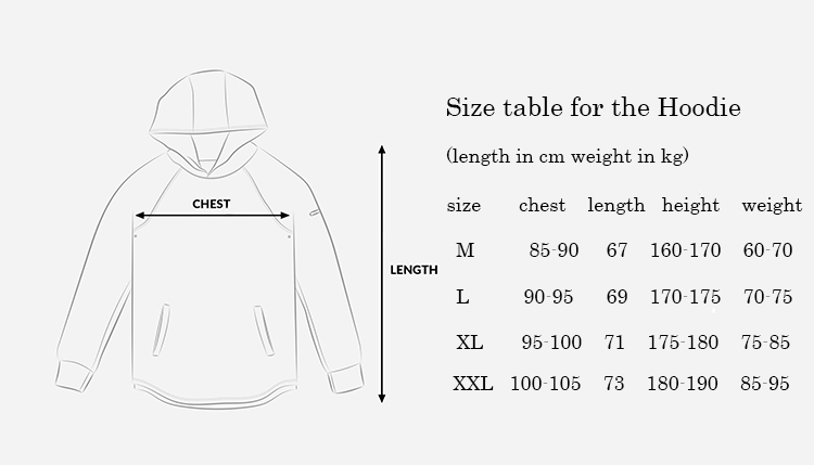 Arm_Pocket_pullover_sizechart1