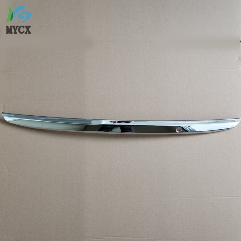 Ajustement pour Toyota COROLLA 2011 E140 Chrome garniture de couverture de coffre arrière porte arrière poignée de porte de cargaison garniture moulage style