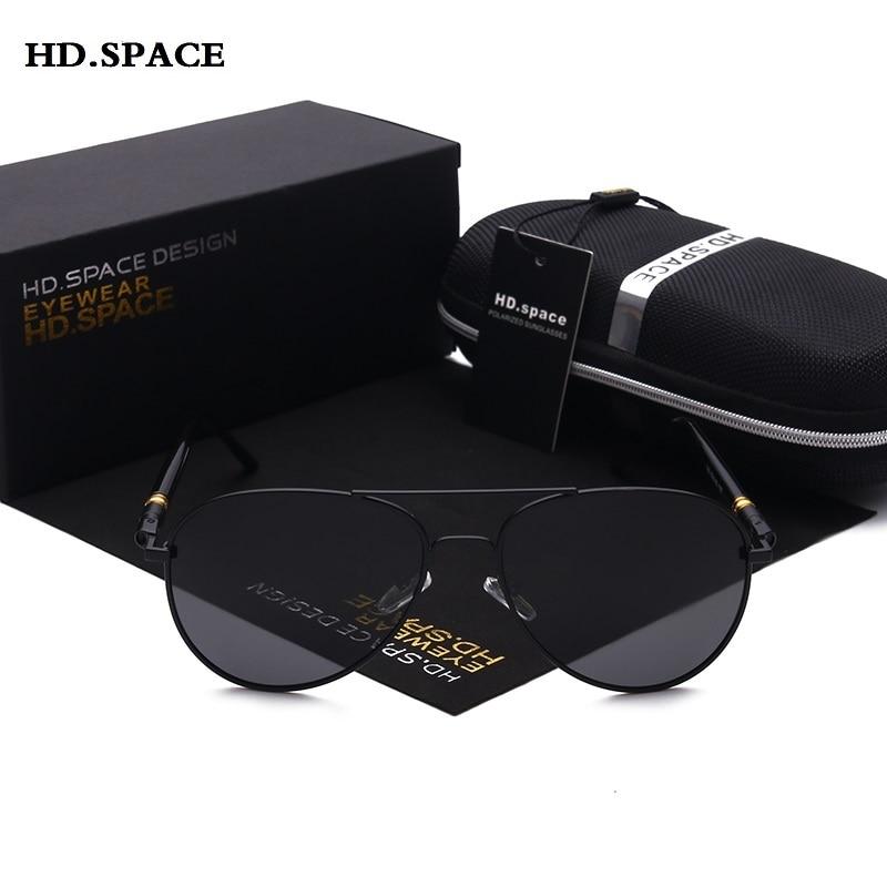Klassische polarisierte Sonnenbrille Männer Vintage-Mode-Stil Lentes - Bekleidungszubehör - Foto 3