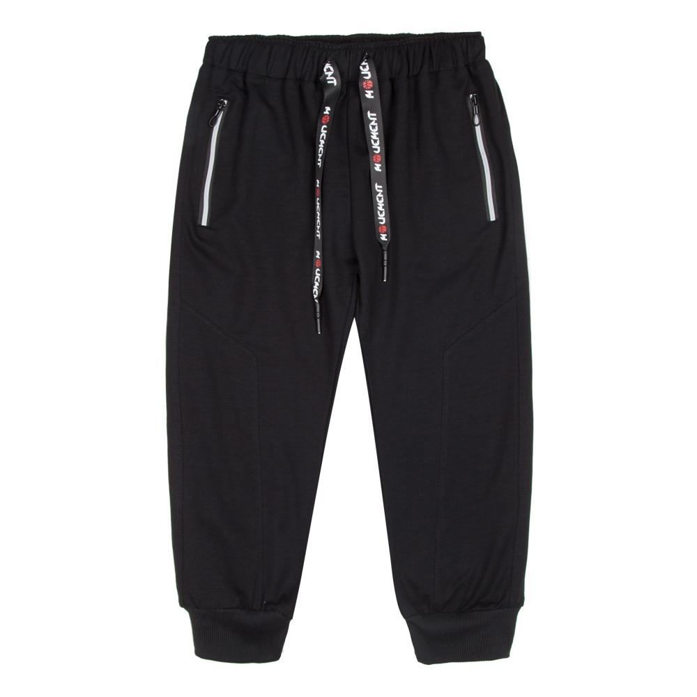 New Mens Casual Galf Length Pants summer Designer Solid Color EUR Size Slim Stretch Pant Men Loose Sweat Pants 5XL AFMT201