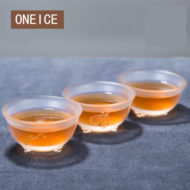 Tee Becher Glas Tee Tasse Einzel Verdicken Master Tassen Chinesischen Stil Master Tassen
