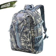 Waterproof Outdoor Travel Riding Backpack Military Tactical Molle Army Bag Camping Hiking Camouflage Rucksack Durable School Bag(China)