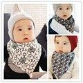 Cute Cartoon Baby Bibs Triangle Infant Newborn Bandanas Burp Cloths Print Infant Cotton Saliva Towel Apron Toddler Scarf Bibs