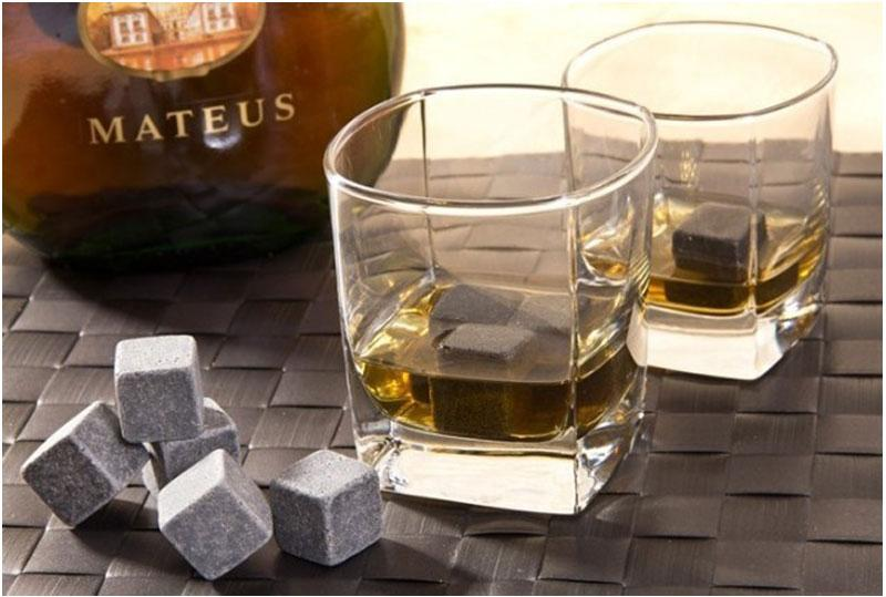 8xHot Wine Whiskey Stones Glacier Rocks Cold Cool Ice Cube Bulk ...