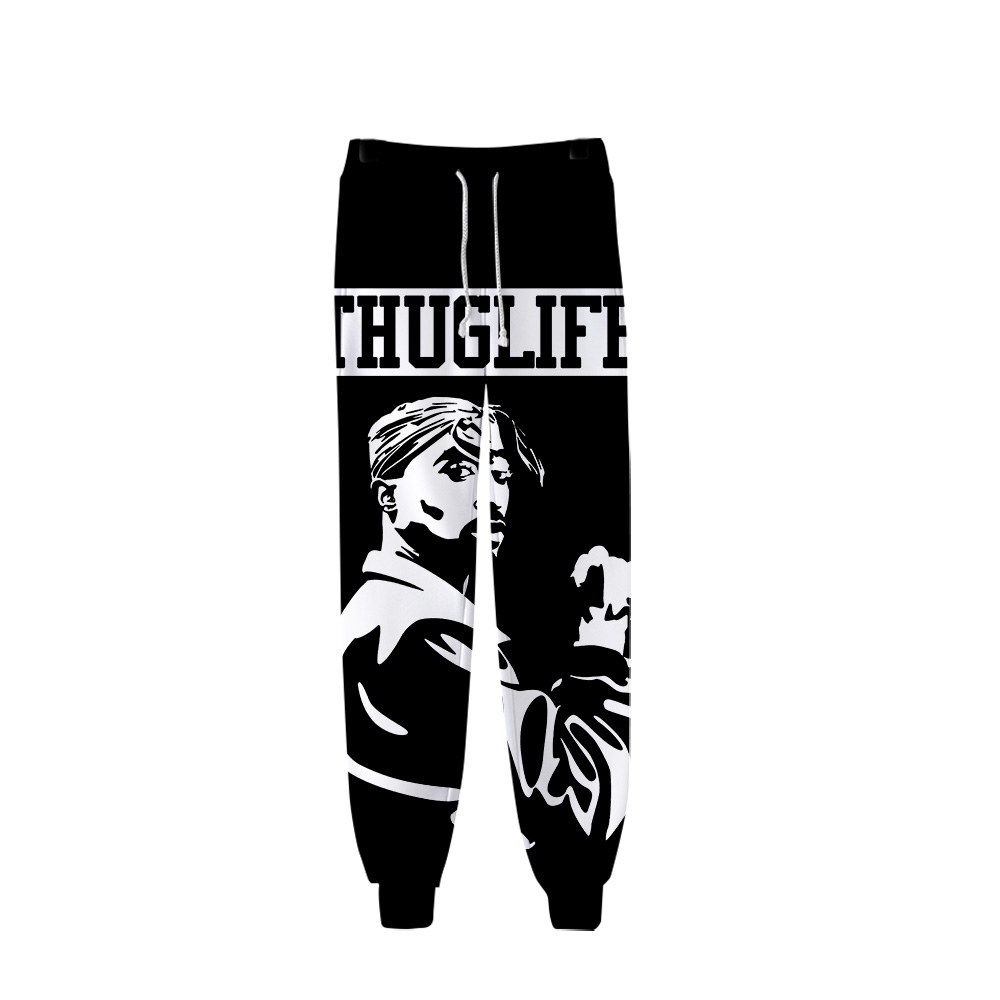 2Pac Sweatpants Men/Women Sweatpants Japanese Streetwear Popular Pants Cargo Hip Hop Pants Men Fashion Winter Pants Plus Size