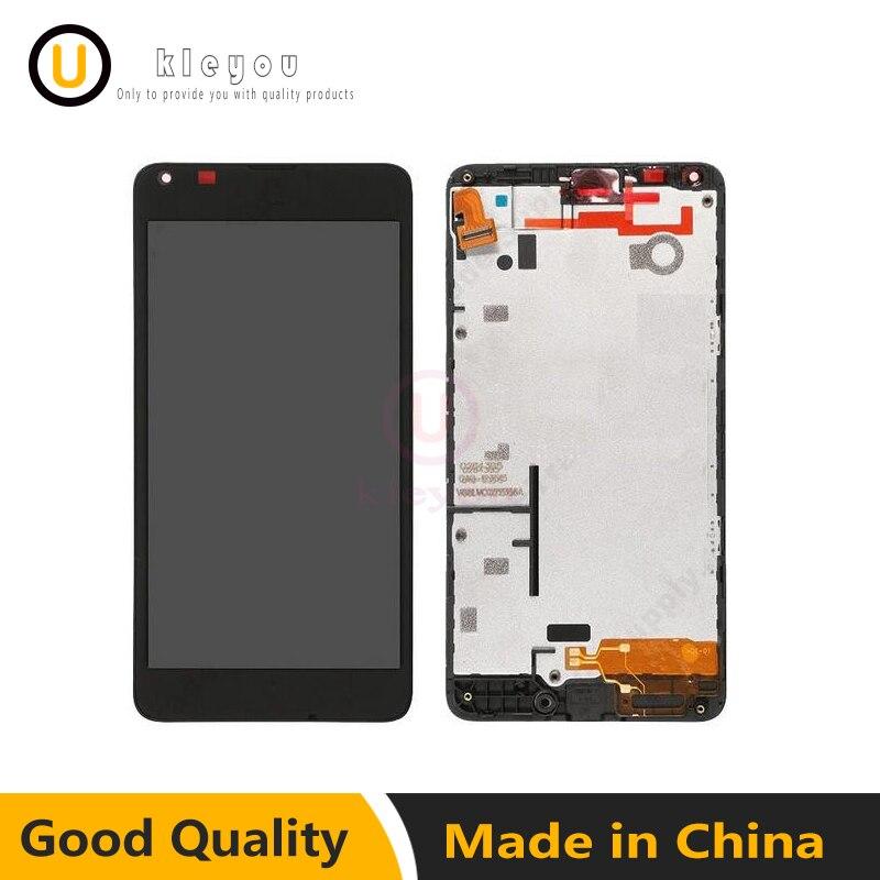 Pour Microsoft Nokia Lumia 640 1113 RM-1109 RM-1072 RM-1073 Écran Tactile Digitizer + LCD Affichage Moniteur Module Assemblée + Cadre